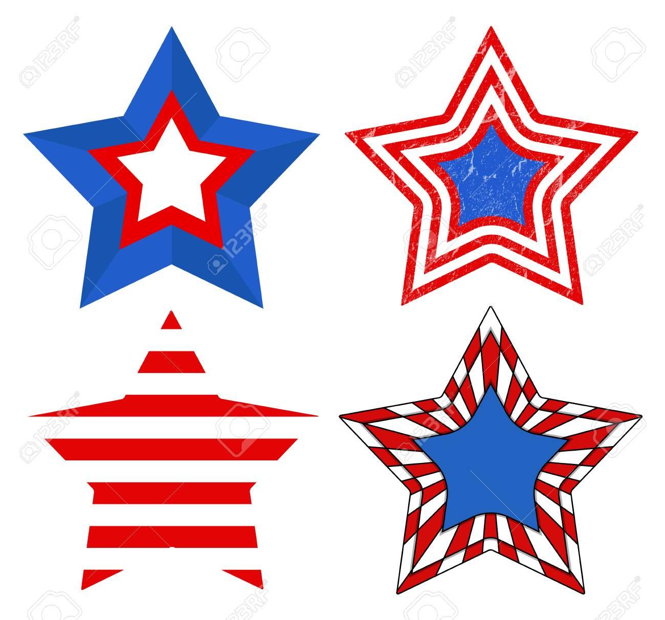 American Flag style.