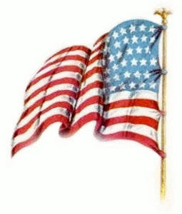 Vintage american flag clipart » Clipart Station.