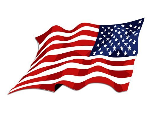 American flag waving clipart 2 » Clipart Station.