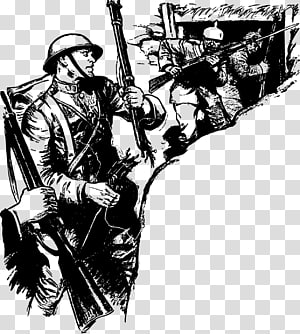 First World War transparent background PNG cliparts free.