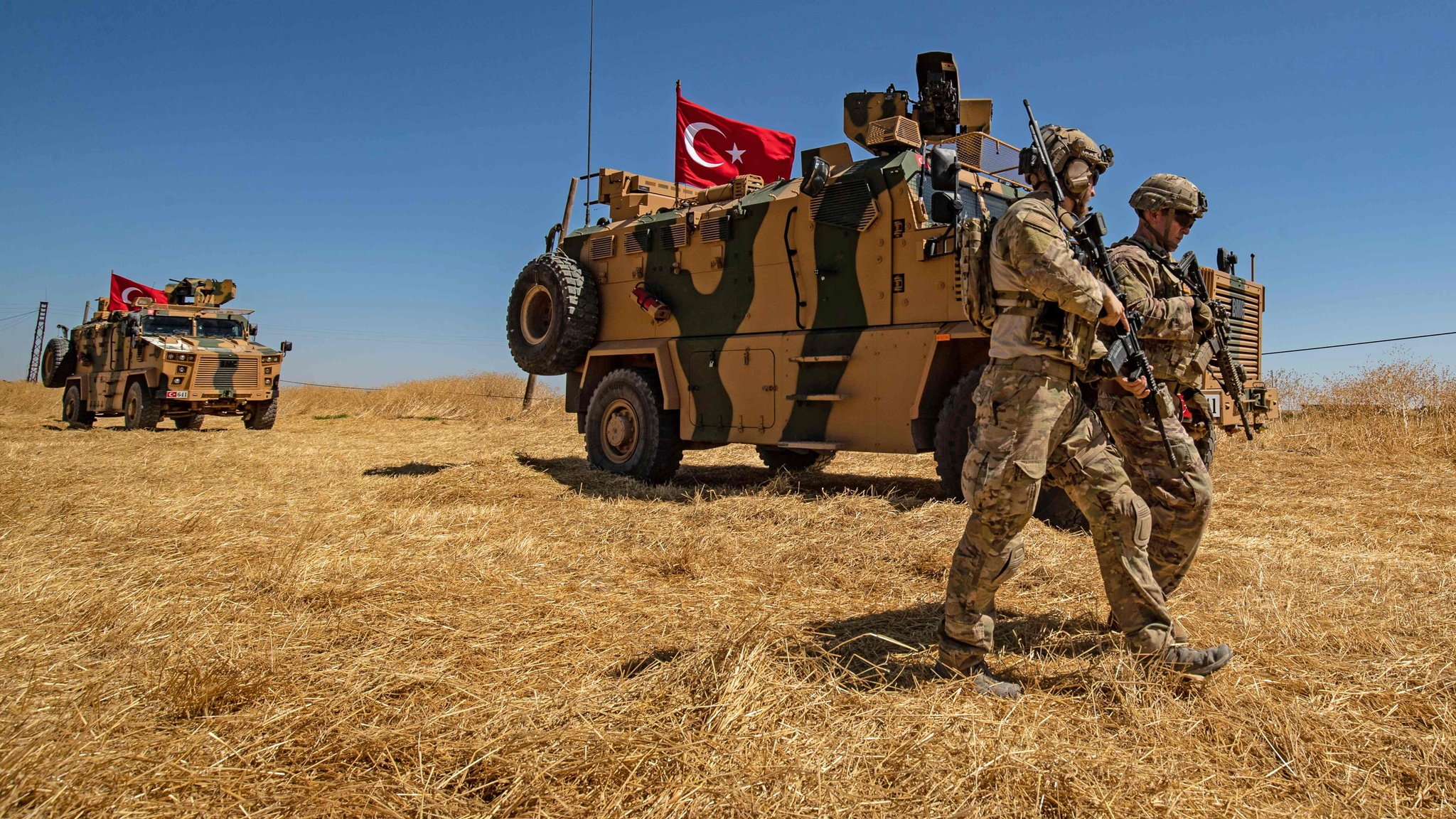 Donald Trump clears Turkish operation in Syria against Kurds.