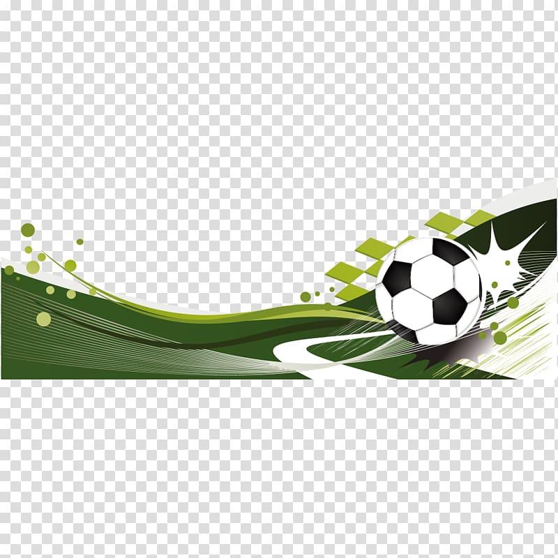 American football Banner Illustration, football, soccer ball.