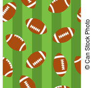 Football Clipart Background.