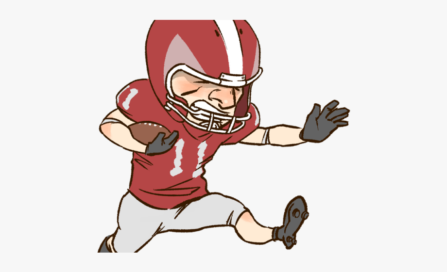 Football Players Clipart.