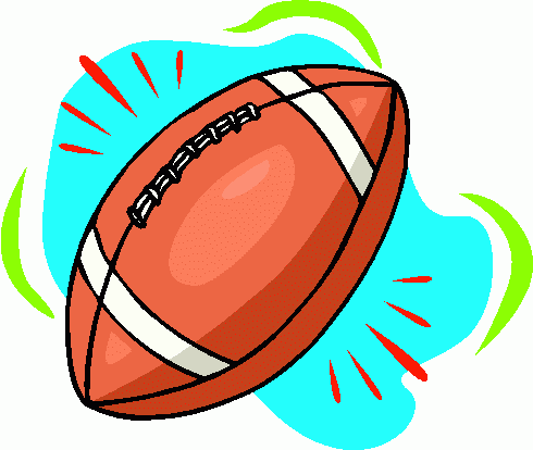 American football clip art 3.