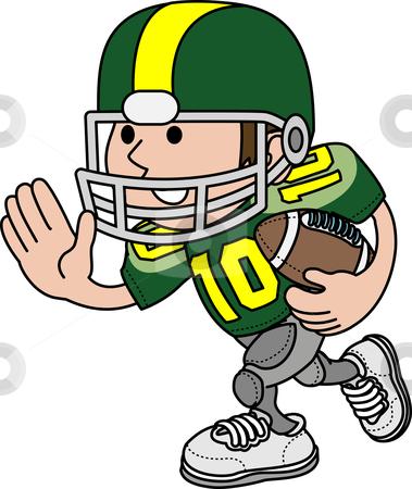 American football clip art.