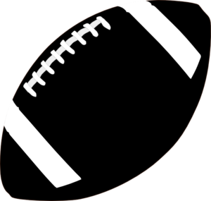 American Football Clipart Black And White.