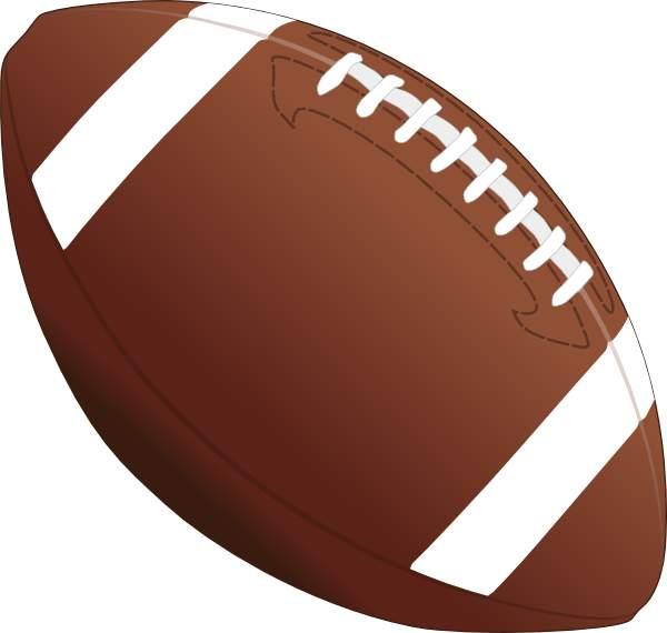 18549 Football free clipart.