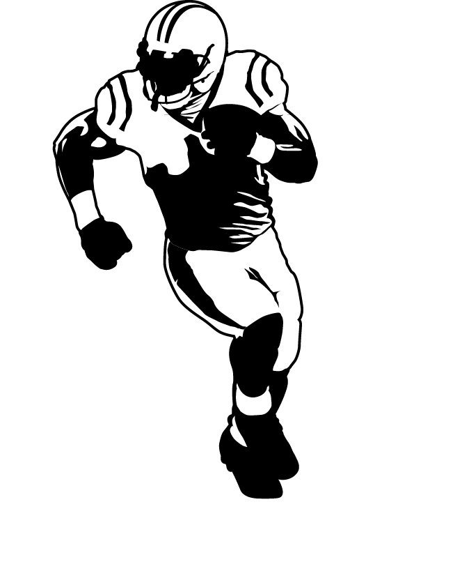 American football Football player Drawing.
