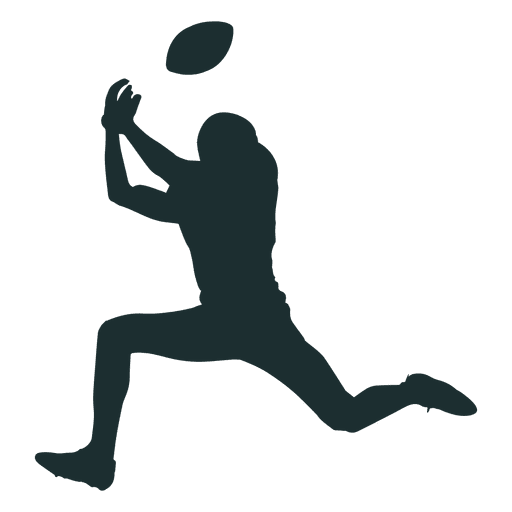 American Football Silhouette Png.