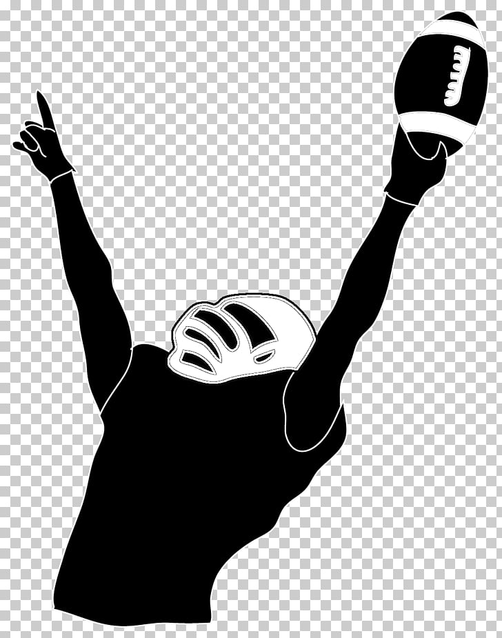 NFL Football player American football , Sports s Silhouette.