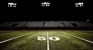 American football field transparent background PNG cliparts.