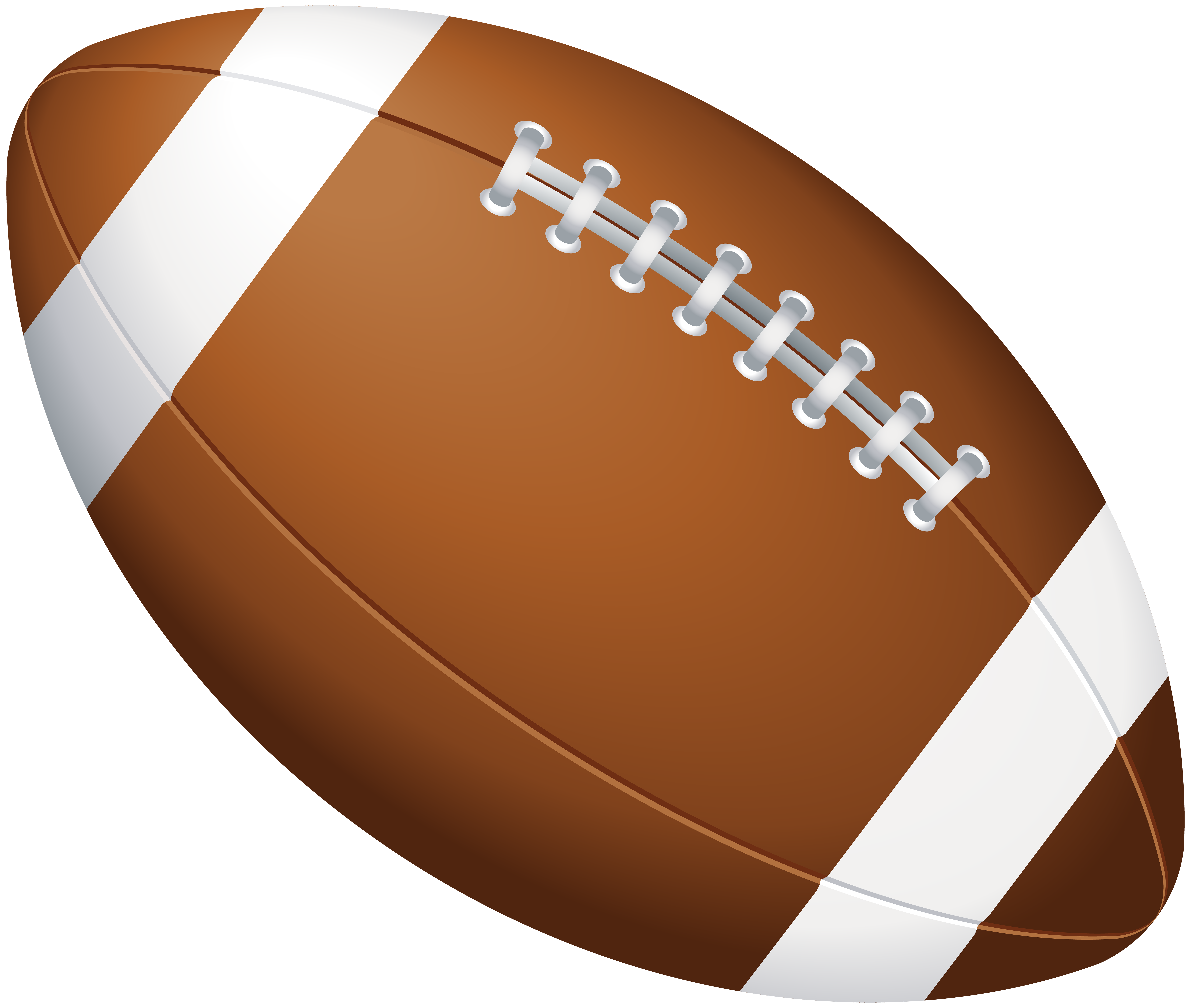 American Football Ball PNG Clip Art Image.