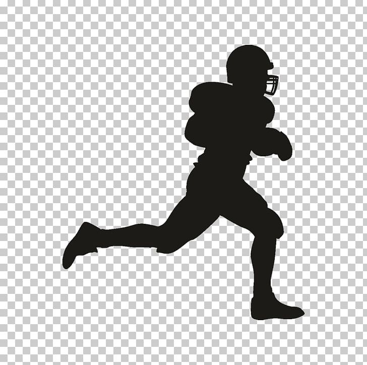 Football Player Silhouette PNG, Clipart, American Football.