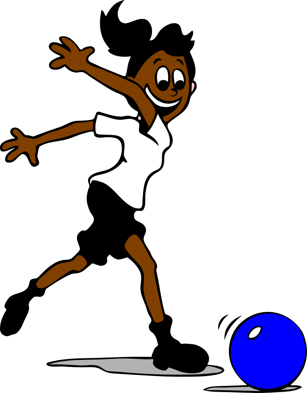 Girl playing soccer clipart. Free download..