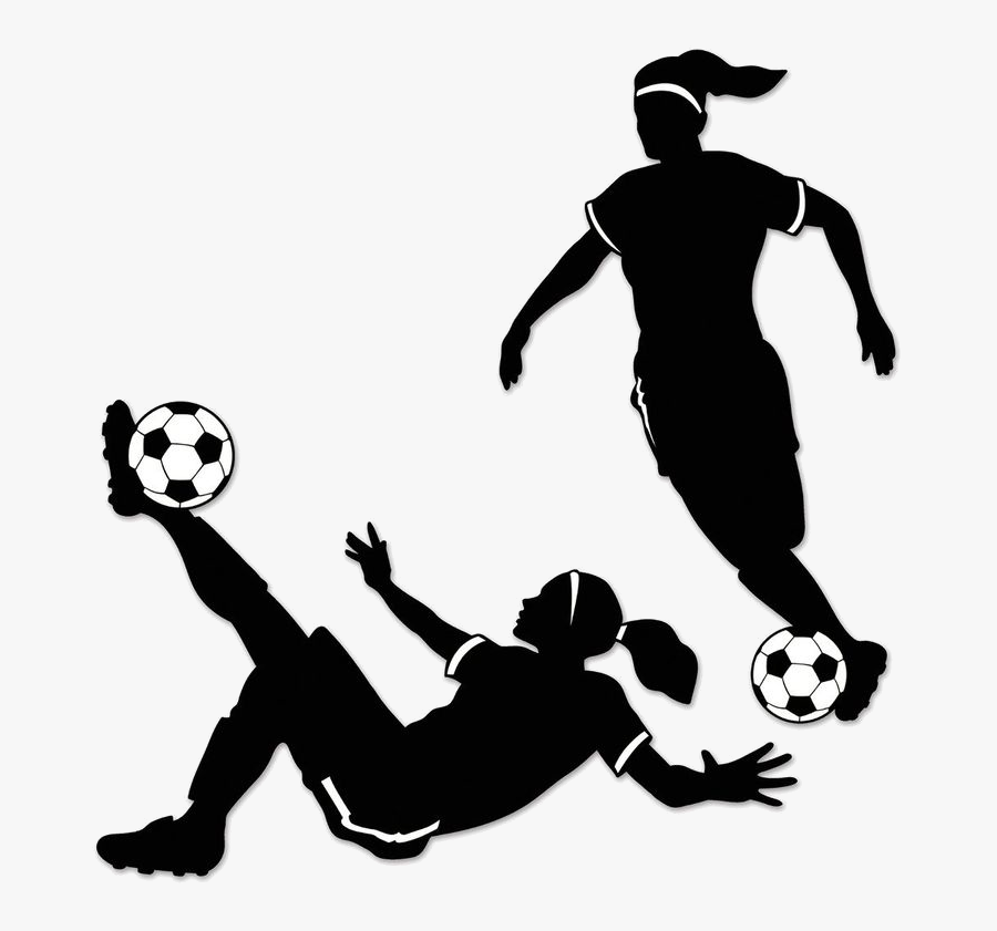 Soccer Girl Player Clipart Free Best Transparent Png.