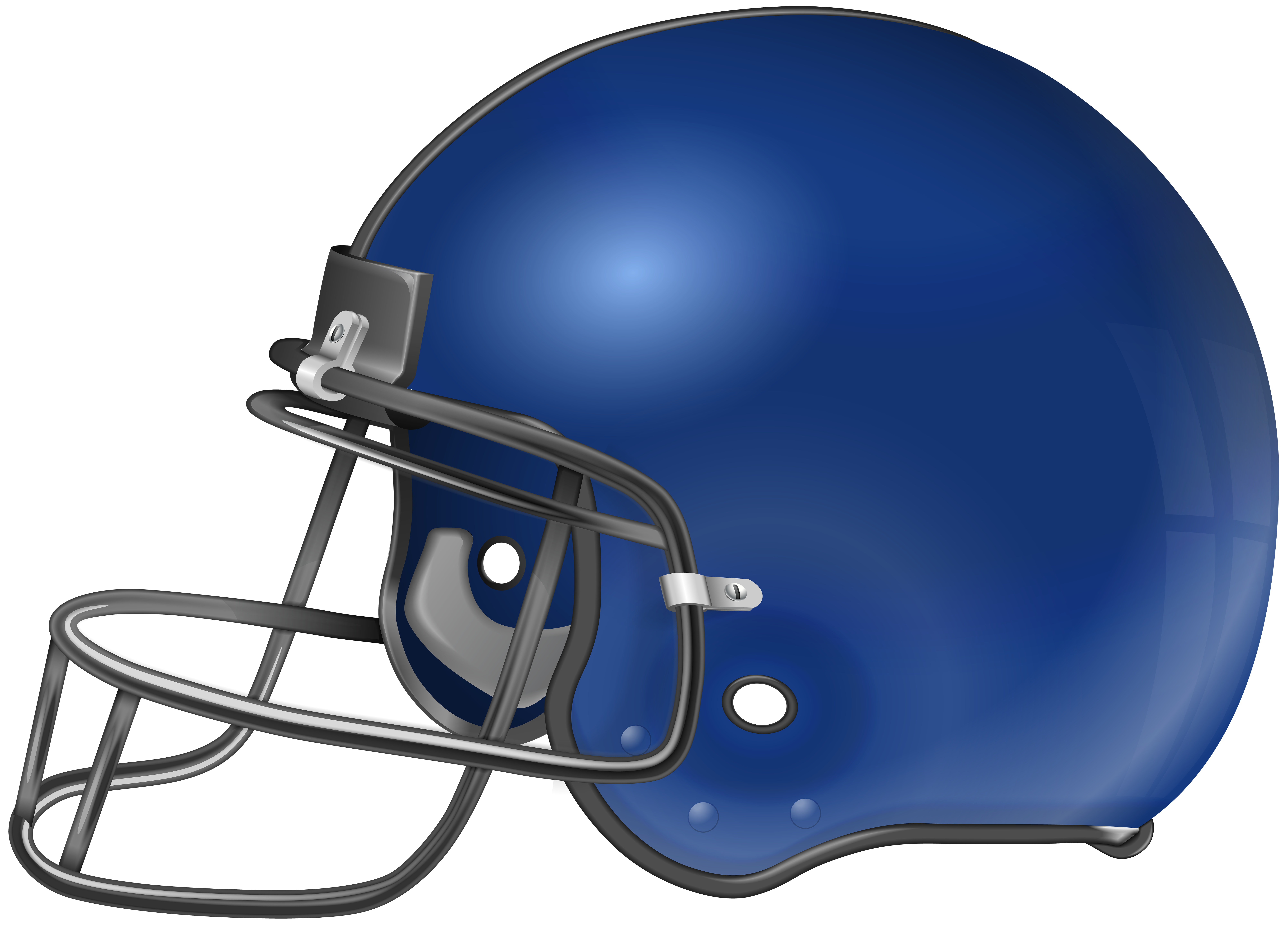 American Football Helmet PNG Clip Art.