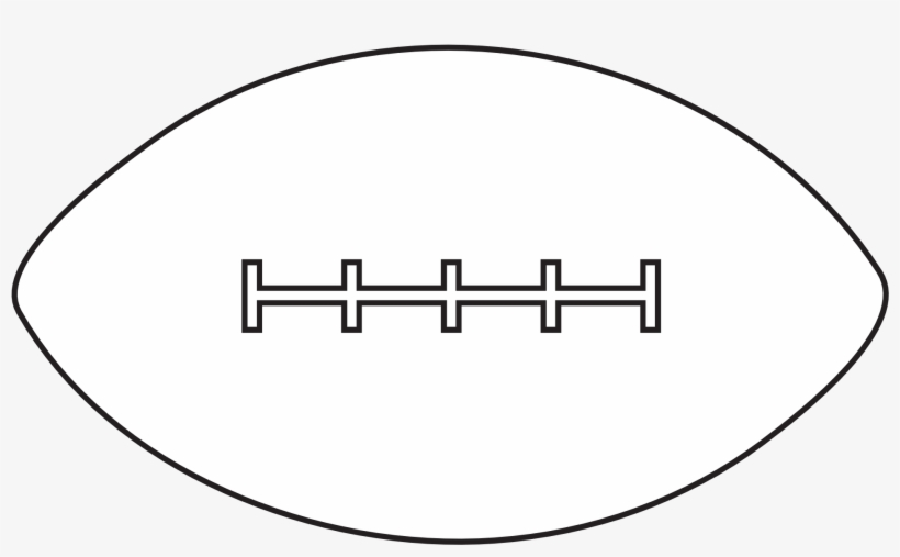 Football Clipart Football Lace.