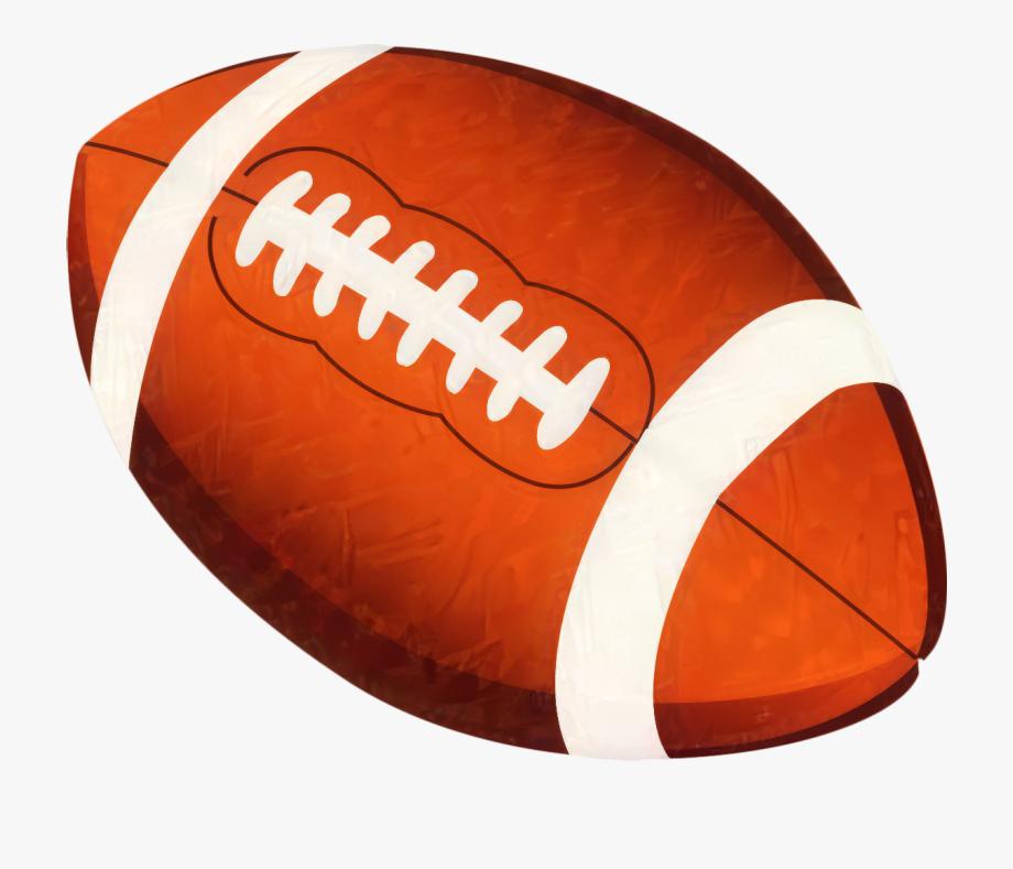 American Football Clip Art Image Cartoon.