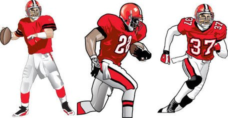 Football Players Clipart Picture Free Download.