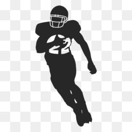 American Football Player Silhouette PNG and American.