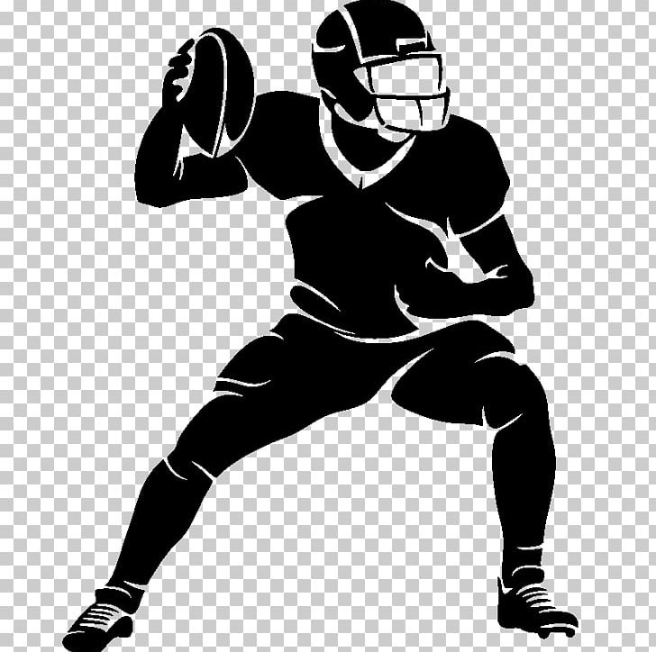 Wall Decal Sticker American Football Football Player PNG.
