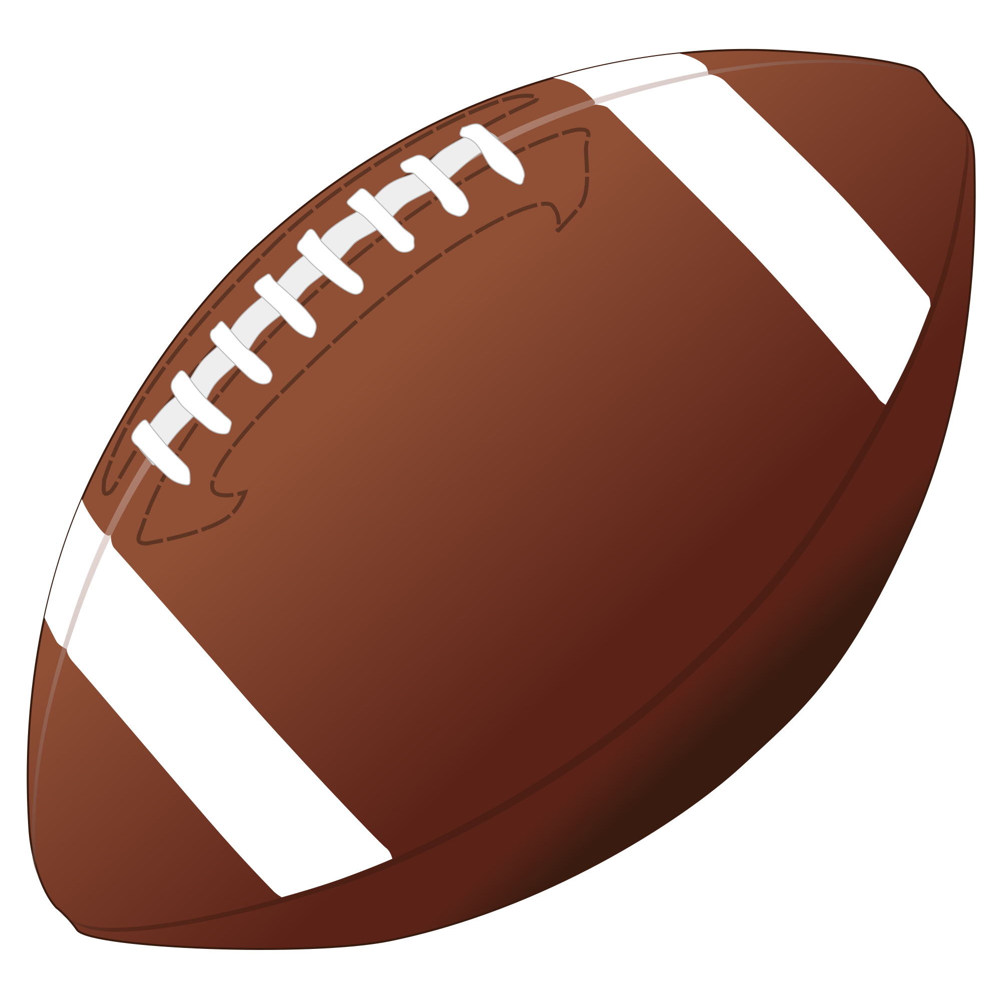 American Football PNG Image.