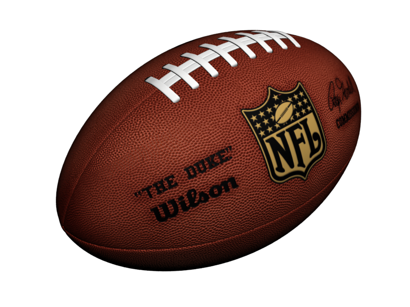 American Football Ball PNG Image.