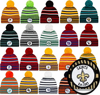 New Era Sideline NFL Beanie Bobble American Football Home.