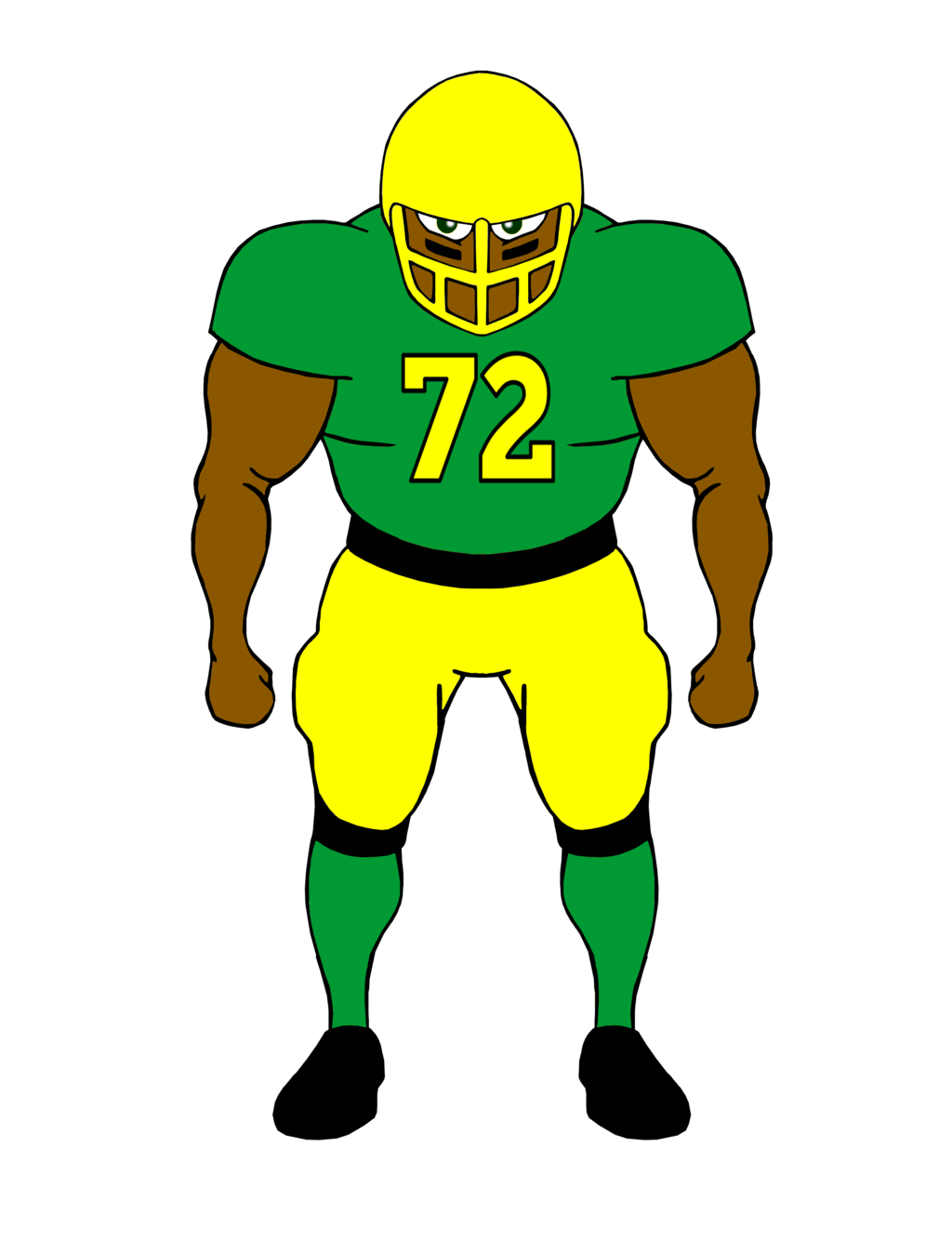Football player American football Tackle Clip art.