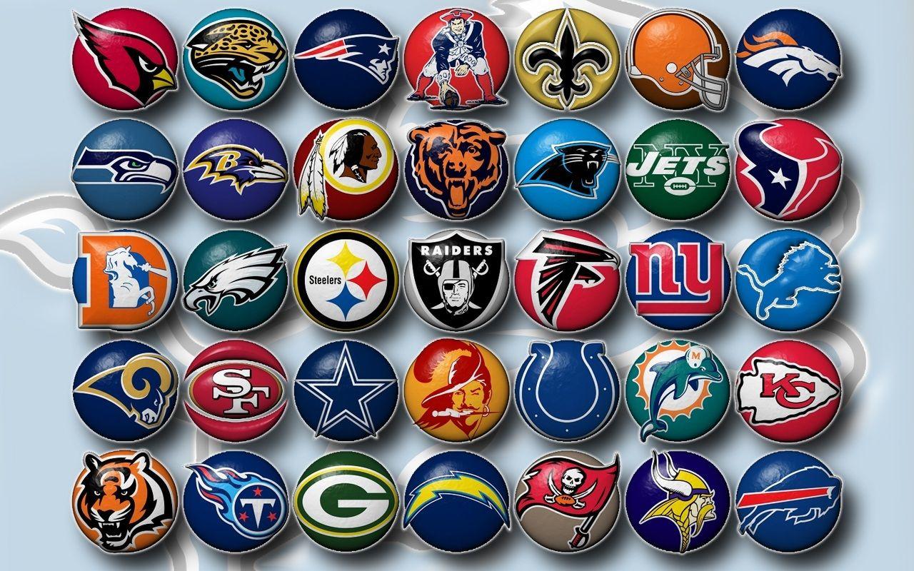 Nfl Football Team Logos Clip Art Football Teams.