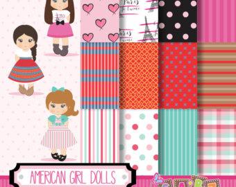 American girl banner.