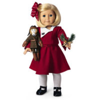 American Girl Doll Clipart Christmas.