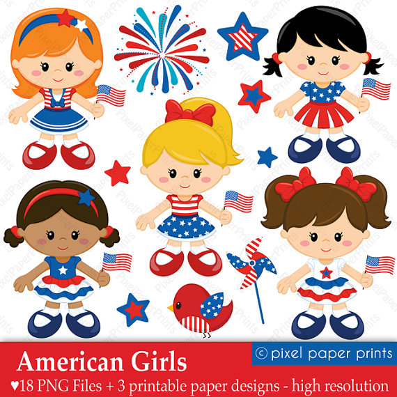 Free American Girl Cliparts, Download Free Clip Art, Free Clip Art.