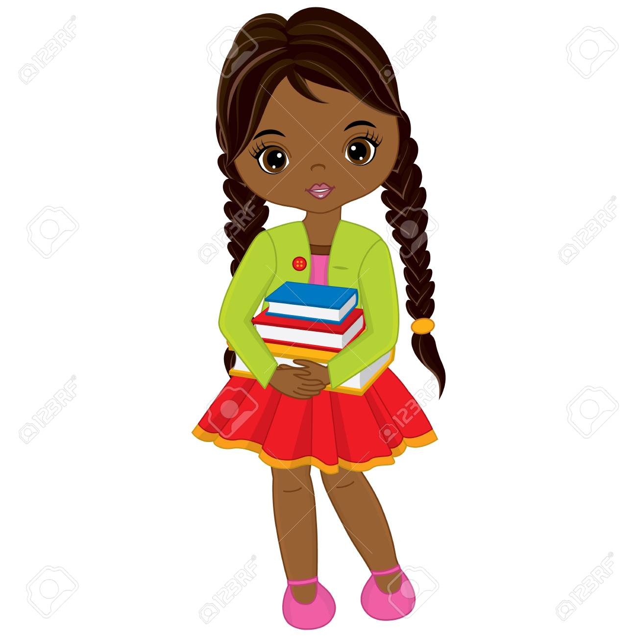 American girl clipart 6 » Clipart Station.