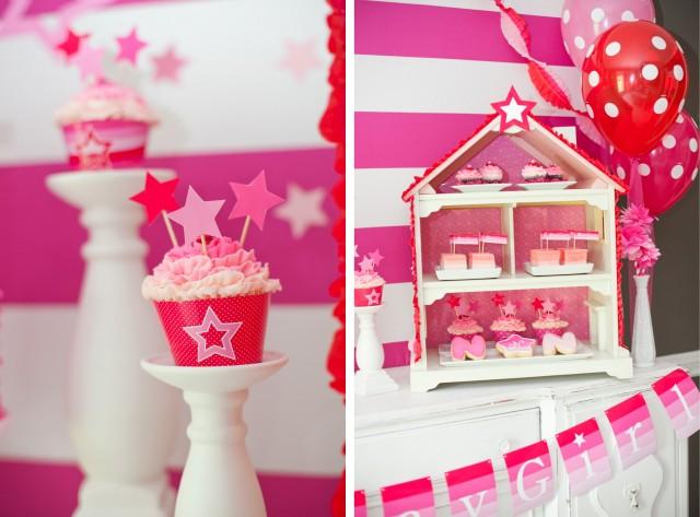 Inspired American Girl Doll Birthday Party.