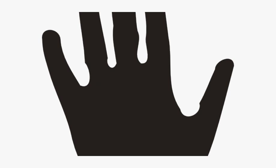 Handprint Clipart Right Hand Man.