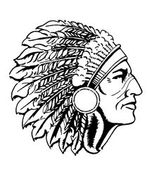 American indian chief clipart 1 » Clipart Station.