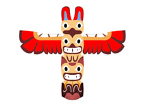 Free Native American Indian Clipart.