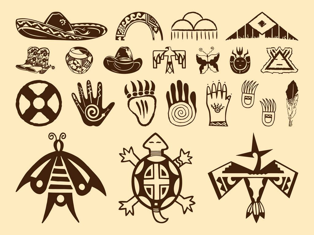 Native American Feather Clip Art.