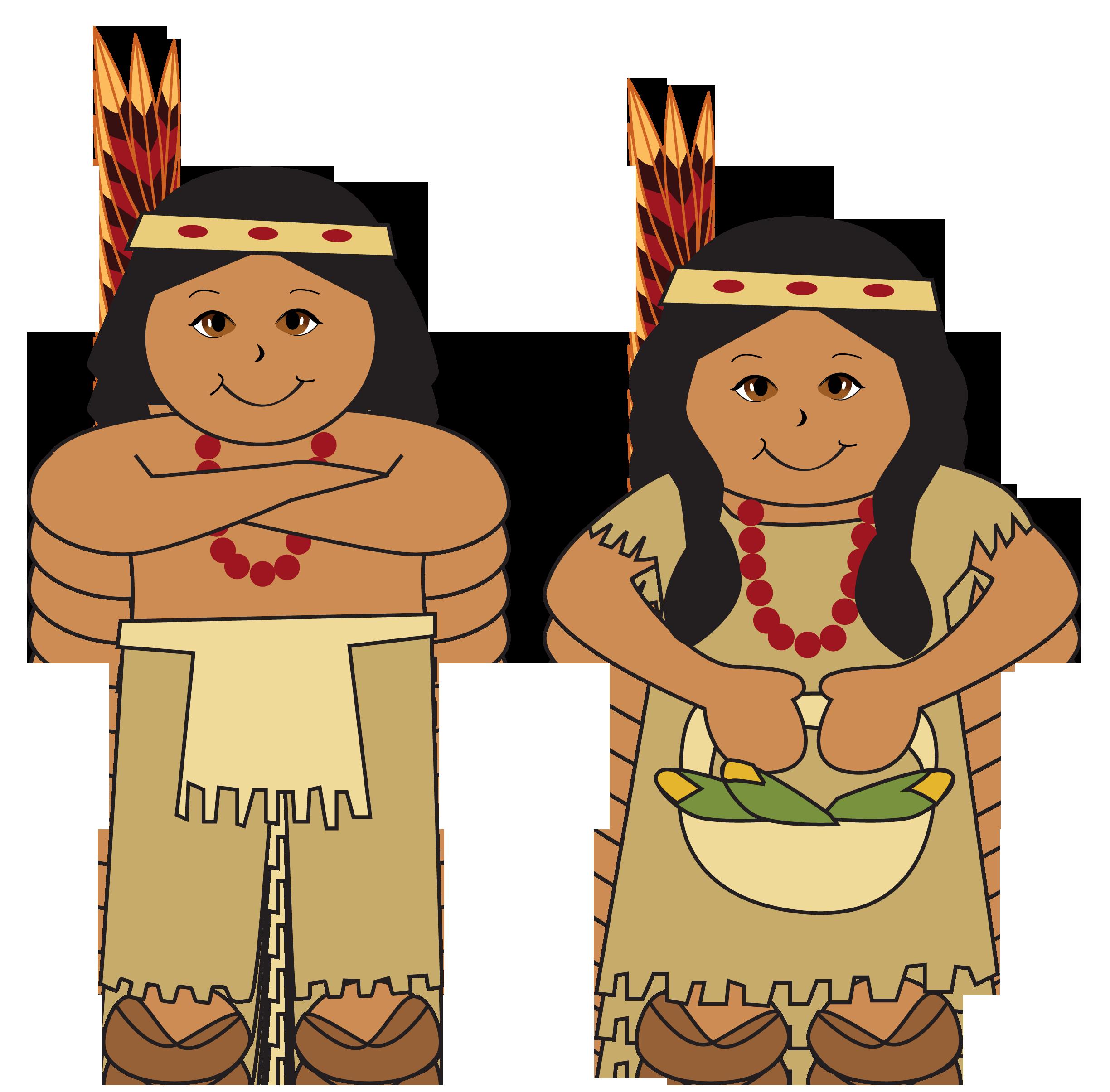 Native american indian native american indian a clip art.