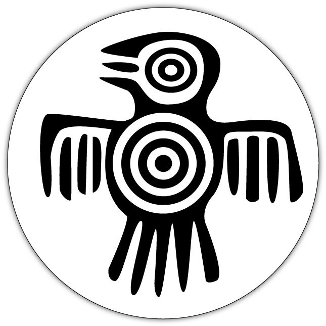 Bird Symbol Example Of Mystical Civilisation Signs.