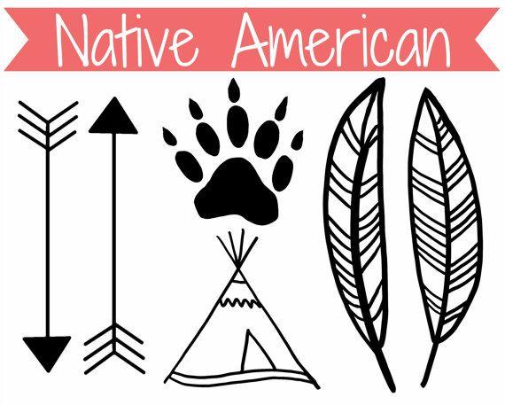 Native American Symbols Clip Art Clipart.