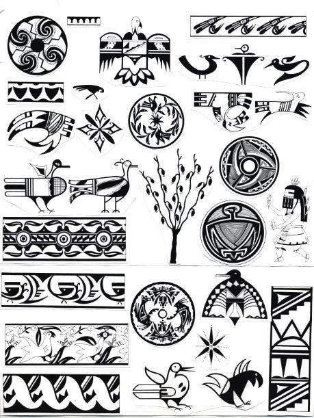 Native American Gallery: Native American Indian Symbols ID.