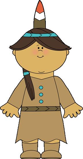 Native American Indian Girl.