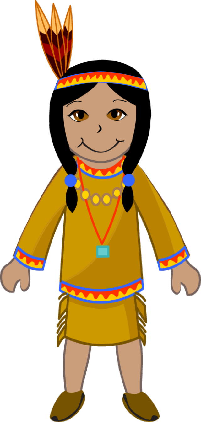 Girl Indian Clipart.