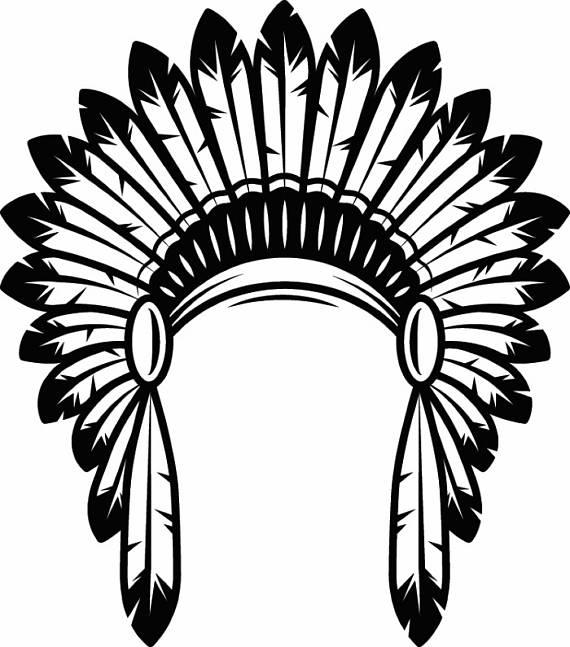 Clipart Indian Headdress.