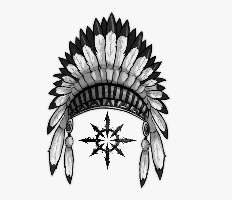 Feather Clipart Indian Headband.