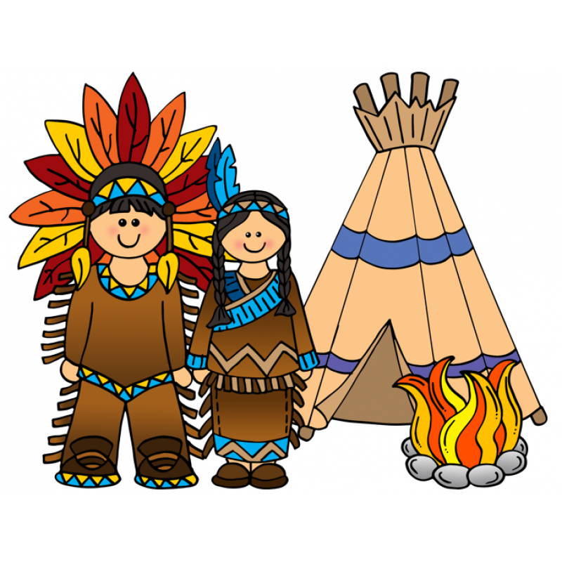 Free native american indian clipart clip art pictures.
