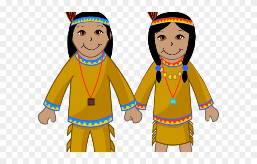 Pilgrim Clipart Native American.